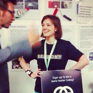 Bespoky's Startup Table at #FashTech – London Technology Week 2014